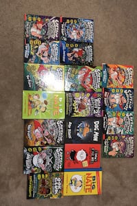 Captain underpants series and some other books  Hamilton, L0R 1W0