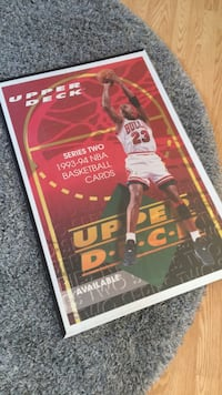 Michael Jordan '93-'94 Upper Deck Poster West Islip, 11795