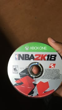 Xbox one nba 2k17 game disc