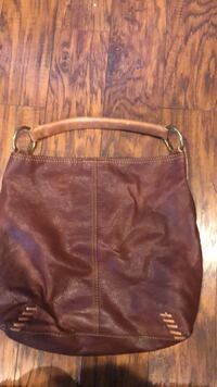 women's brown leather shoulder bag American Canyon, 94503