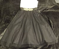 BEAUTIFUL BLACK AND WHITE SHEER ALL OCASSION DRESS SIZE 7. ASKING $25.00 Hagerstown