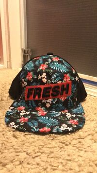"""""""Fresh"""" Hat with floral printing  Anaheim, 92808"""