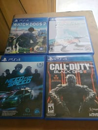 four assorted PS4 game cases Warrensburg, 12885
