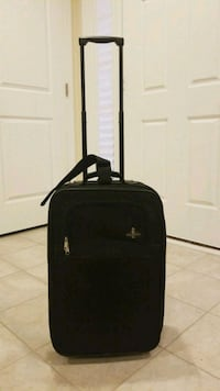 Black Carry On suitcase luggage 22""