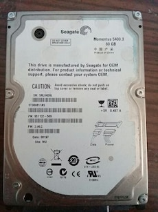 Seagate laptop sabit diski 80gb