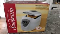 white and gray Sinbo bread maker box Vaughan, L4H 0H4