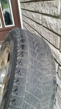 Bridgestone Blizex winter tires Pickering