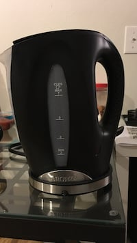 black aroma electric kettle