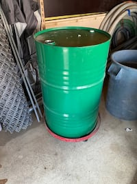 Steel 55 Gallon Drum & Dolly