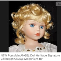 "NEW IN BOX — 18"" porcelain Angel doll  St. Charles, 63303"