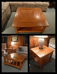 Matching coffee table and end table Swansea
