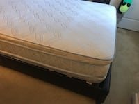 Queen Bed Frame and Mattress  Arlington, 22206