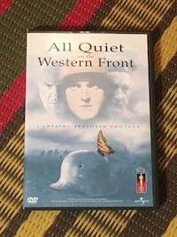 All Quiet on the Western Front WWI DVD  Toronto, M2M 2A7