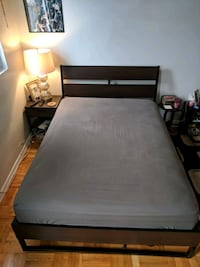 Full Size mattress with bed frame and headboard  Alexandria, 22305
