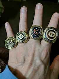 2016 Chicago Cubs World Series Rings plus... North Platte, 69101