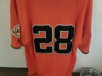 Buster Posey's rookie World Series jersey  Las Vegas, 89122