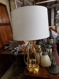 2 contemporary gold lamps Mooresville