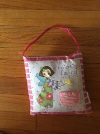 Cute tooth fairy pillow. front pocket for tooth and larger back pocket Medford, 02155