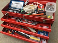 Mastercraft tool box all tools included Richmond Hill, L4E 3A6