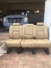 beige leather vehicle bench seat North Las Vegas, 89081