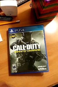PS4 Call of Duty Infinite Warfare game case Reston, 20191