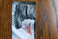 250$ Red Wing Boots gift card