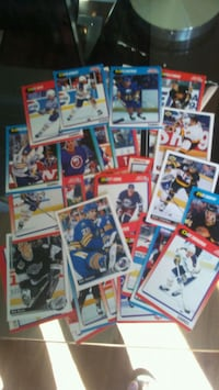 assorted hockey player trading cards London, N5W
