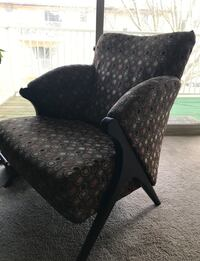 Black and gray floral padded armchair Reisterstown, 21136