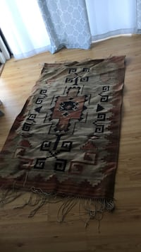 brown and gray area rug Daphne, 36526