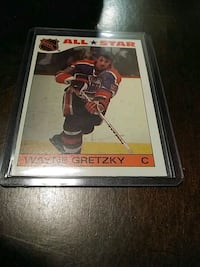 1985/86 TOPPS WAYNE GRETZKY HOCKEY STICKER CARD Pickering, L1V 3V7