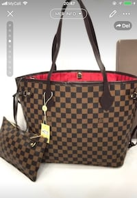 Damier Ebene Louis Vuitton tote bag Oslo, 1065