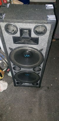 black and gray subwoofer speaker Silver Spring, 20906