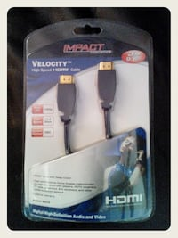 Impact Acoustics Velocity High Speed HDMI Cable - SEALED Honolulu, 96814