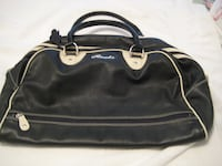 "Roots Leather Bag - NEW - bottom measures 19"" L x 9"" deep x 19"" High"