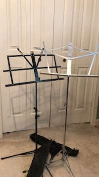 music stands   2 with cases Louisville, 40223