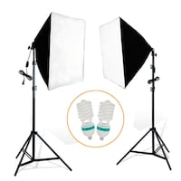 1000w Photo Video Continuous Softbox Lighting Kit / brand new / PhotoVideoSpot.ca Toronto