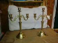 solid brass antique candle holders Summerville, 29483