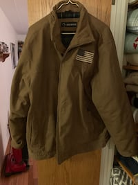 brown zip-up jacket 474 mi