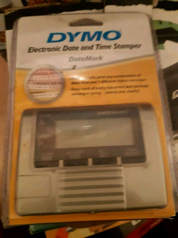 Dymo Electronic Date And Time Stamper