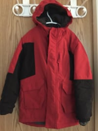 red and black zip-up jacket Surrey, V3W 7Z2