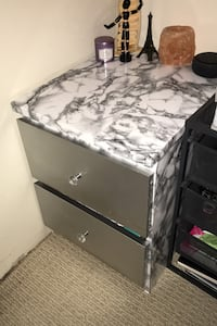 Custom marble drawer