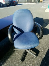 blue and black rolling armchair Forest Hill, 21050