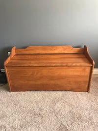 Bench - toy box