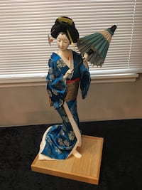 Collectible porcelain Japanese dolls. Camas, 98607