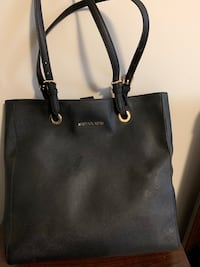 black Michael Kors leather tote bag Toronto, M9A 0B4