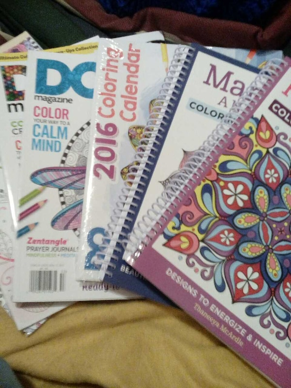 ADULT COLORING BOOKS, NOT THE CHEAP WALMART KIND!!