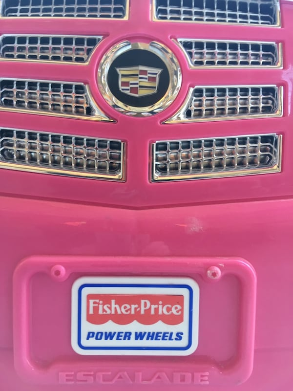 Barbie powered child's SUV Fisher Price 6b5ff2f8-cb8a-45f3-a345-7167d9339a83