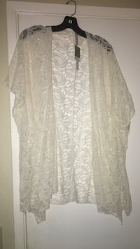 Lace Cardigan from Ross. Size: M (tags still attached)  Nipomo, 93444