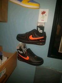 black-and-red Nike basketball shoes Halton Hills