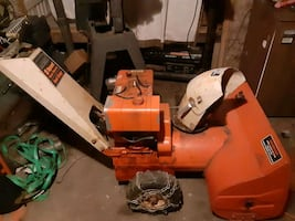 Montgomery wards 8hp two stage snow blower